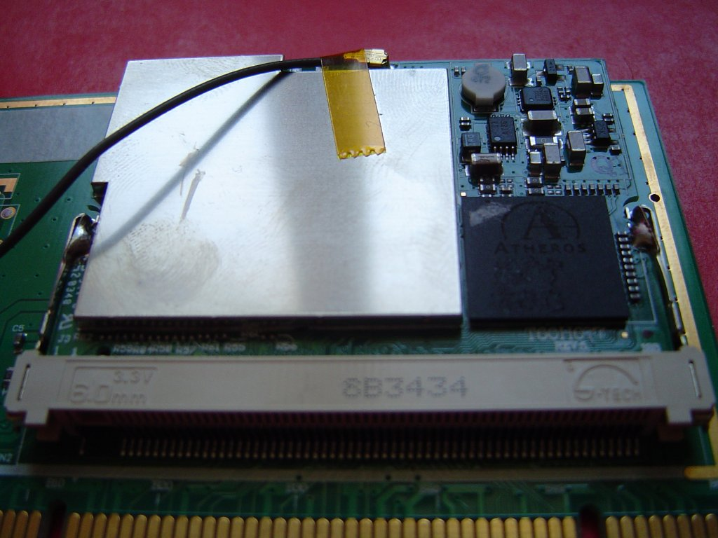Atheros mini-pci