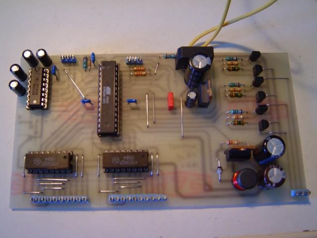 Nixie clock (AVR + UART + MPSAs + K155 + HT)