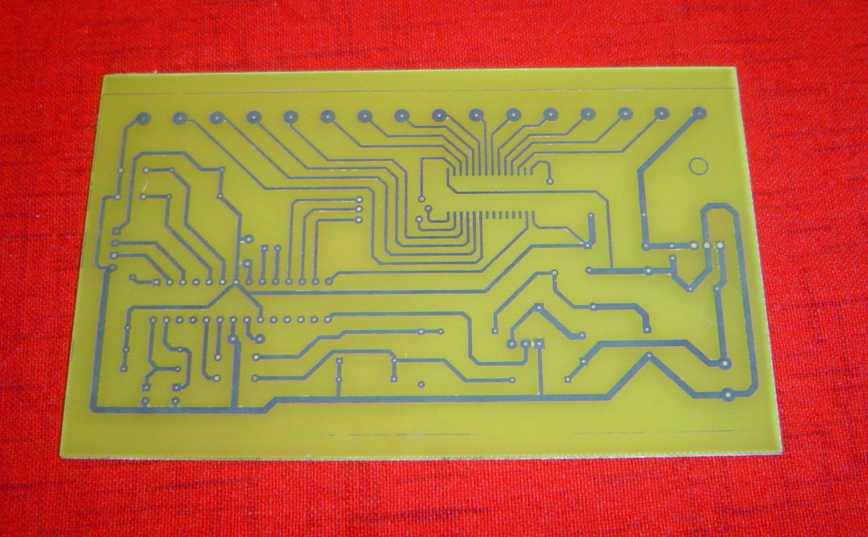PCB for IVL1-7/5 Clock