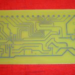 PCB for IVL1-7/5 Clock
